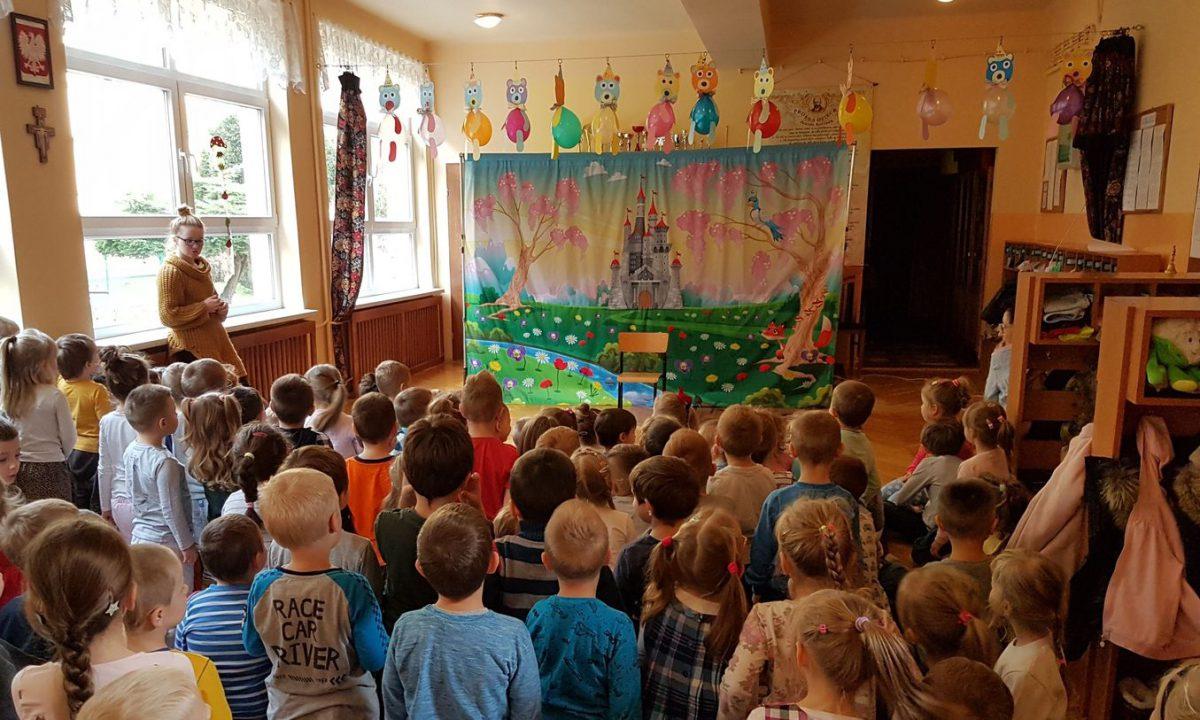 Teatrzyk Zielony Melonik, czyli dobre maniery w przedszkolu