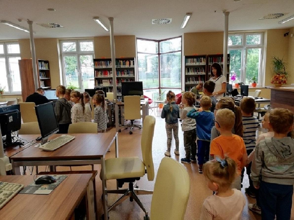 Wizyta w Bibliotece PWSTE w Jarosławiu