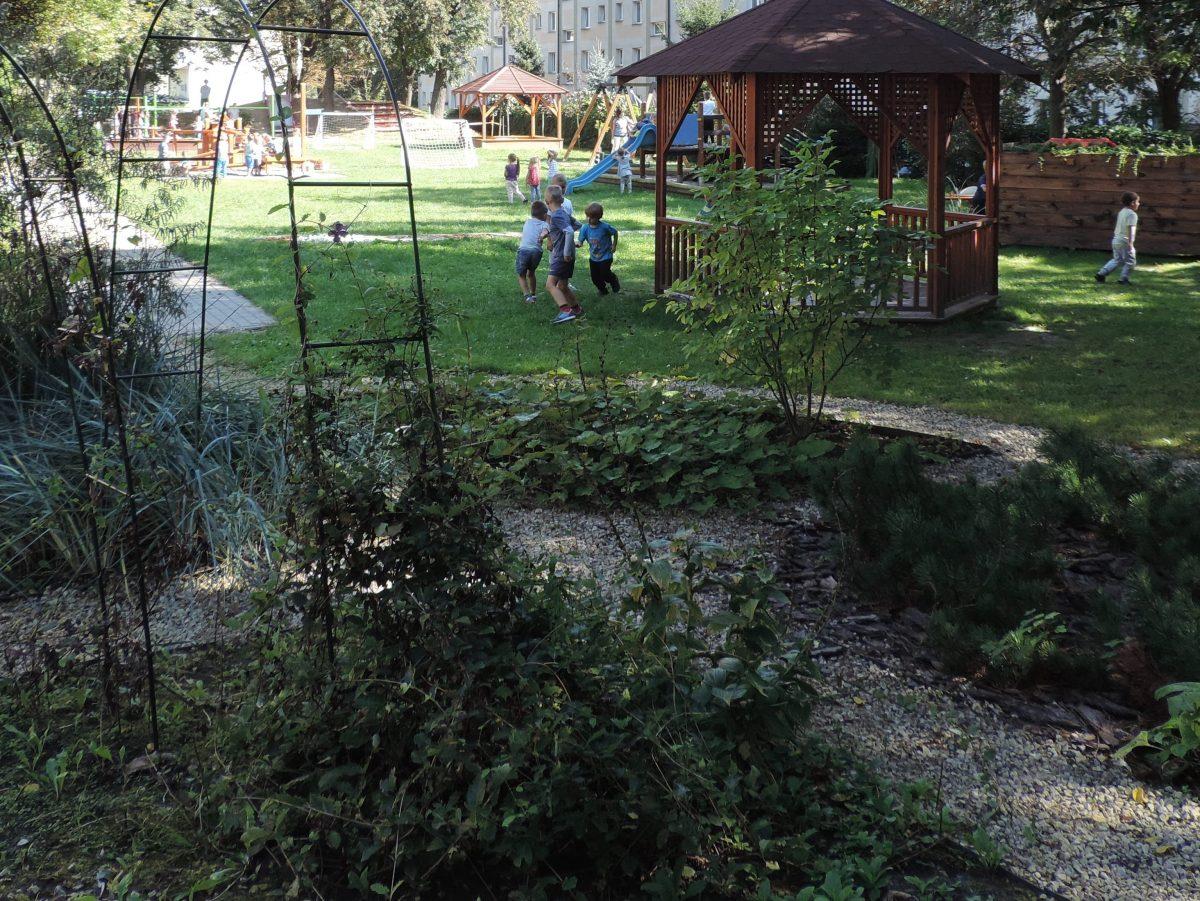 Modernizacja ogrodu przedszkolnego.