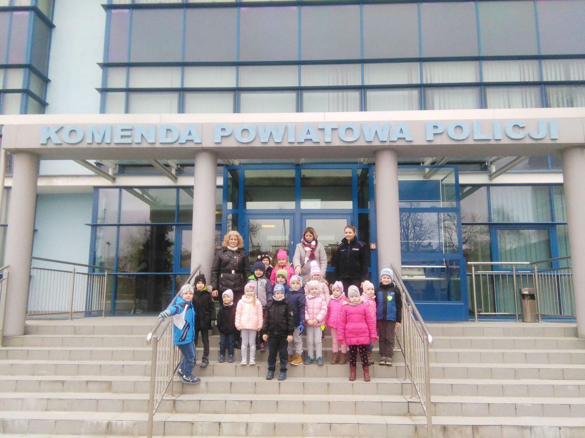 Wizyta w Miejskiej Komendzie Policji w Jarosławiu