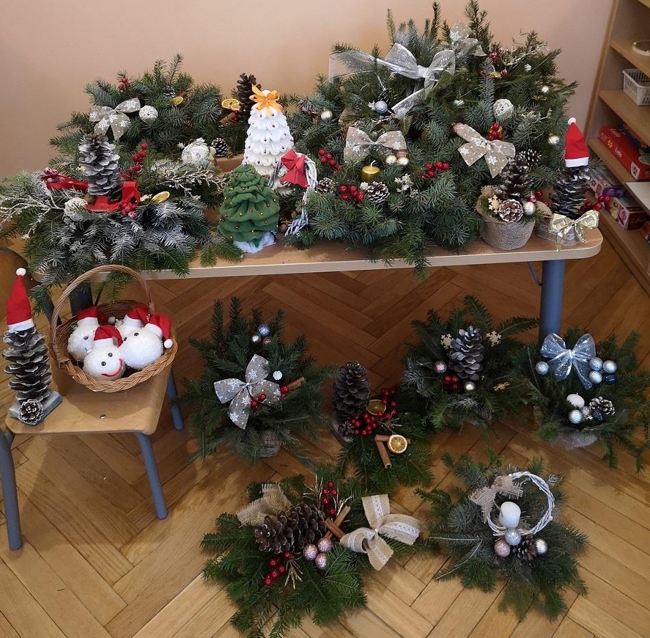 Warsztaty świąteczne z udziałem Rodziców w gr. Czerwonej