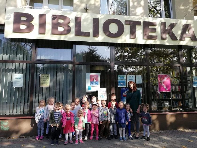 Wizyta w Miejskiej Bibliotece Publicznej