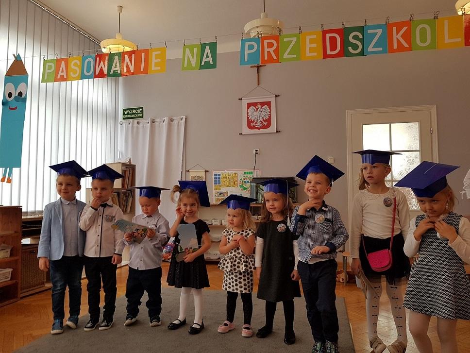 Pasowanie na Przedszkolaka w grupie Czerwonej