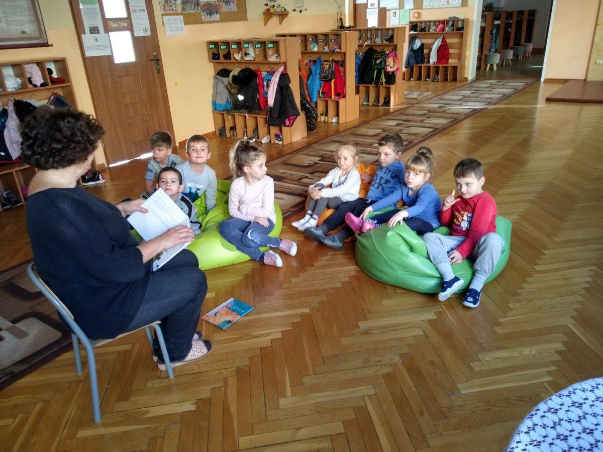 W bibliotece przedszkolnej
