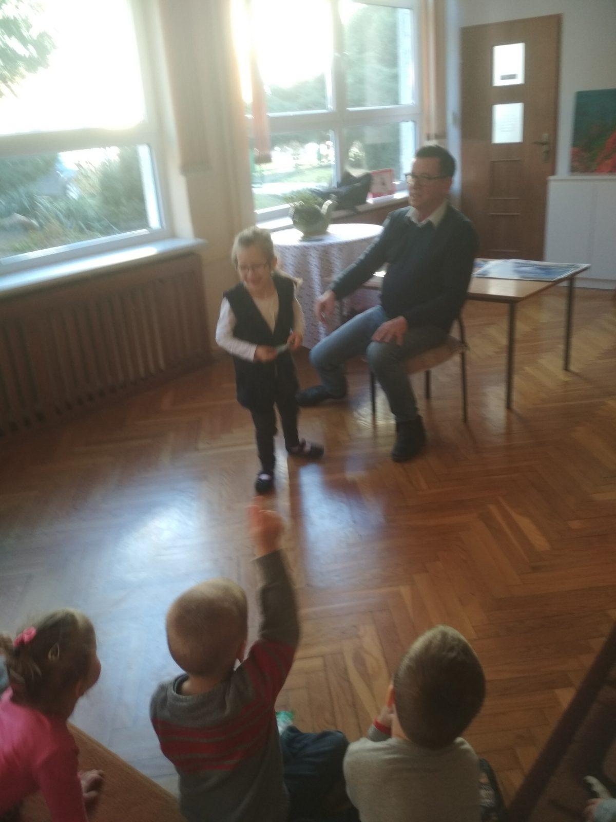 Spotkanie autorskie z poetą,pisarzem i fotografem p.Wojciechem Ulmanem