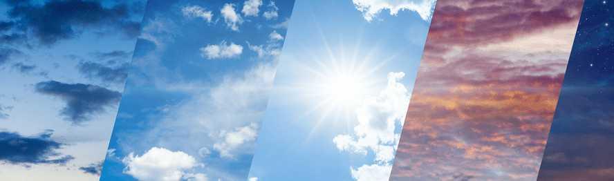 Jaka dzisiaj jest pogoda?