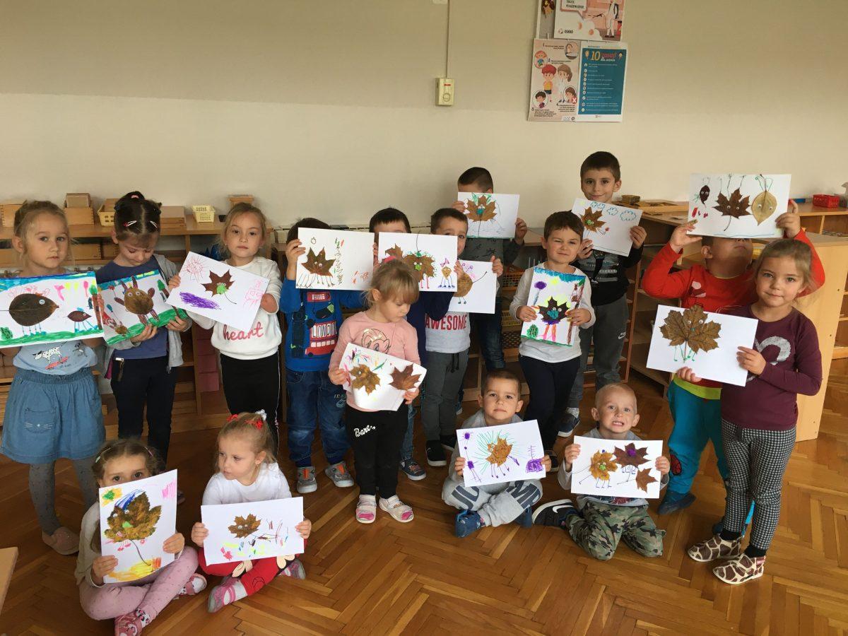 Kreatywne jesienne zabawy przedszkolaków