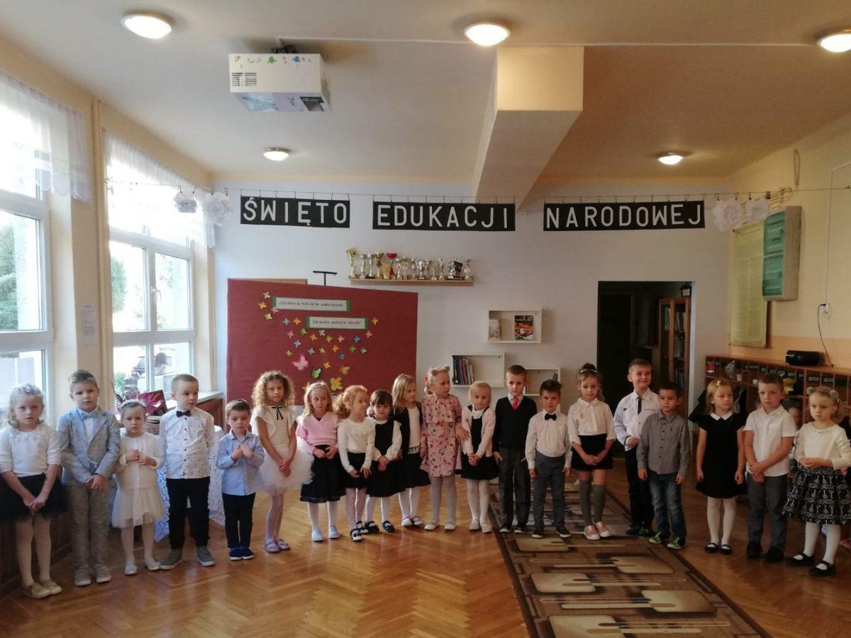 Uroczysta akademia z okazji Święta Edukacji Narodowej.