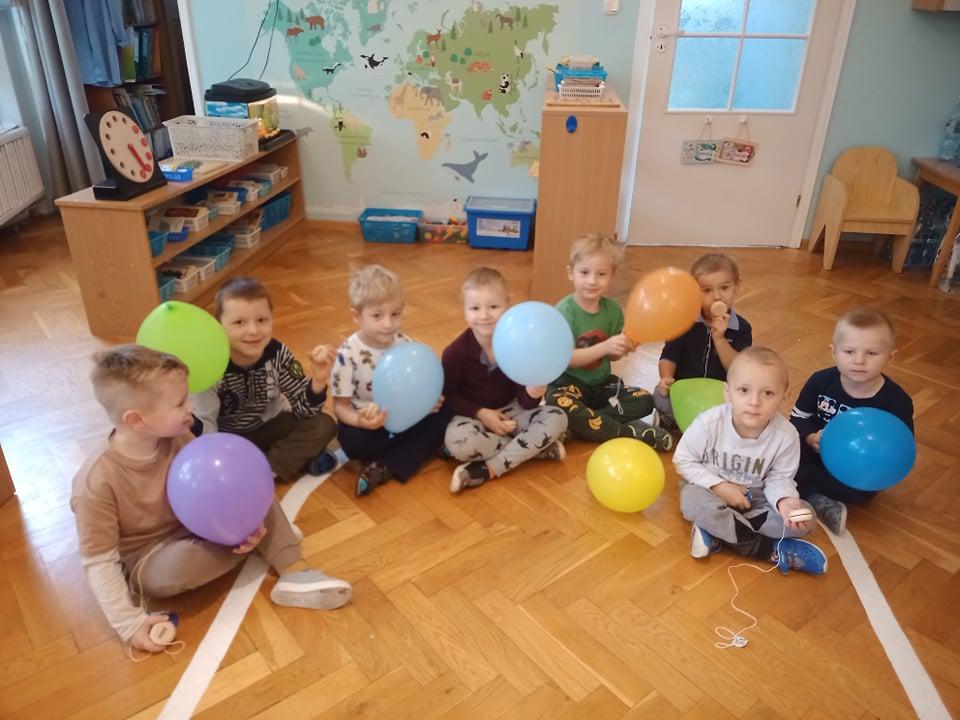 Święto Chłopaków w grupie Niebieskiej.